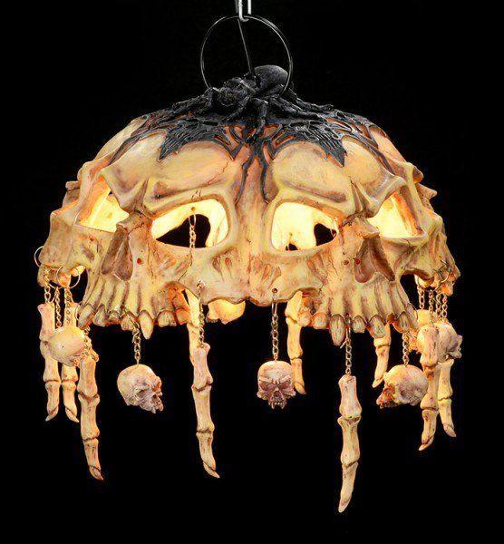 Totenkopflampe - Deckenlampe