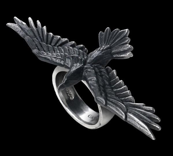 Black Consort - Alchemy Raven Ring