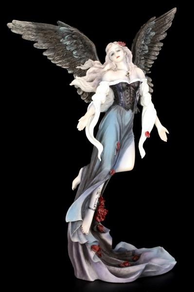 Gothic Engel Figur - Der Himmel kann warten