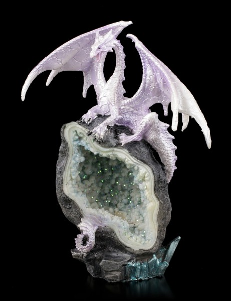 Drachen Figur LED - Glacial Custodian