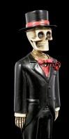 Skeleton Figurine - Groom with Tophat