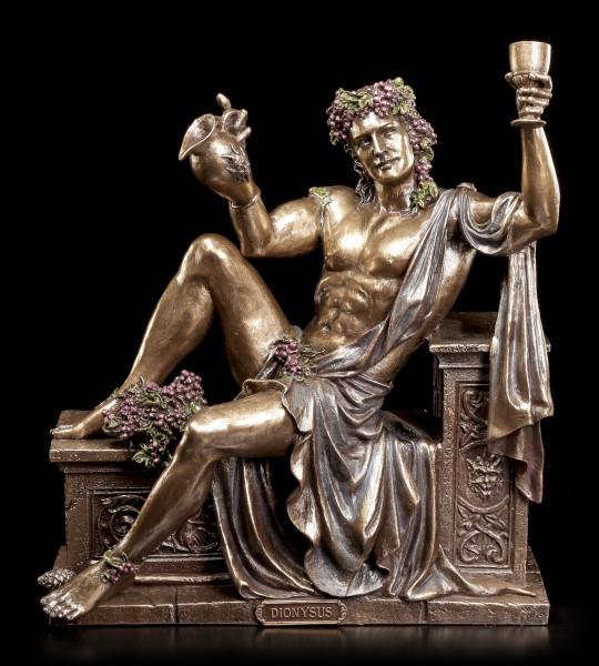 Dionysos Figurine - Greek God of Wine resting