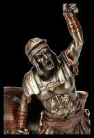 Gladiator Figurine - Spartacus with Sword and Shield