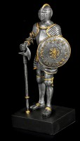 Knight Figurine with Axe and Shield