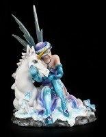 Elfen Figur - Mia mit Einhorn