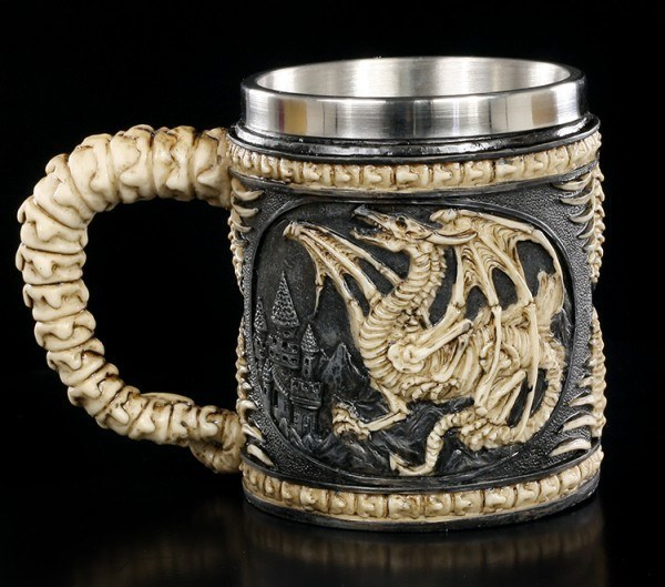 Tankard - Dragon Skeleton