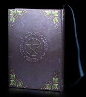 High Class Hardback Journal - Book Of Shadows Ivy