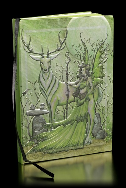 Notizbuch mit Elfe - Guardian by Amy Brown