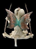Wald Elfen Figur auf Schaukel