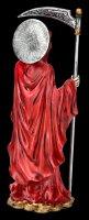 Santa Muerte Figurine - red