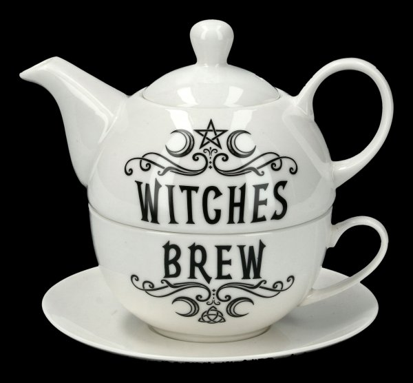 Teekannen Set - Witches Brew 2