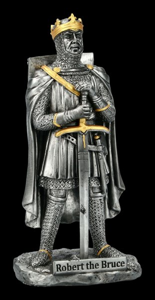 Robert the Bruce Figurine - King of Scotland