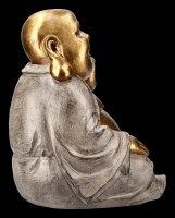 Lachende Buddha Figur mit erhobener Hand