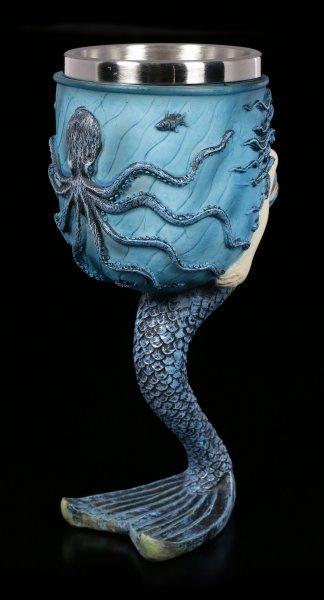 Fantasy Kelch - Meerjungfrau by Anne Stokes