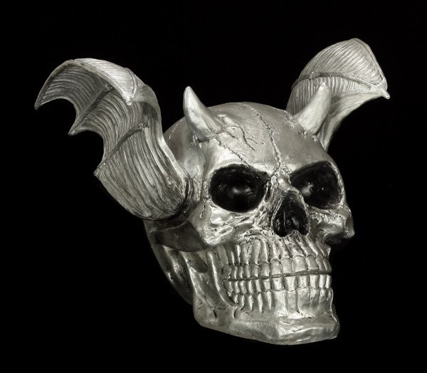Skull - Demon with Wings