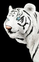 White Tiger Figure - Sitting on the Floor