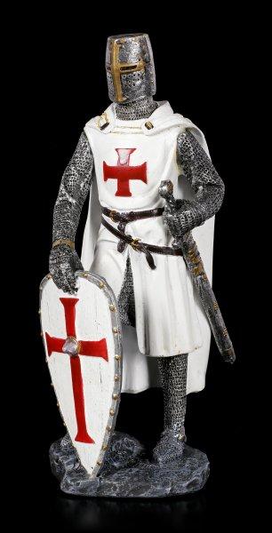 Crusader Figurine with Shield