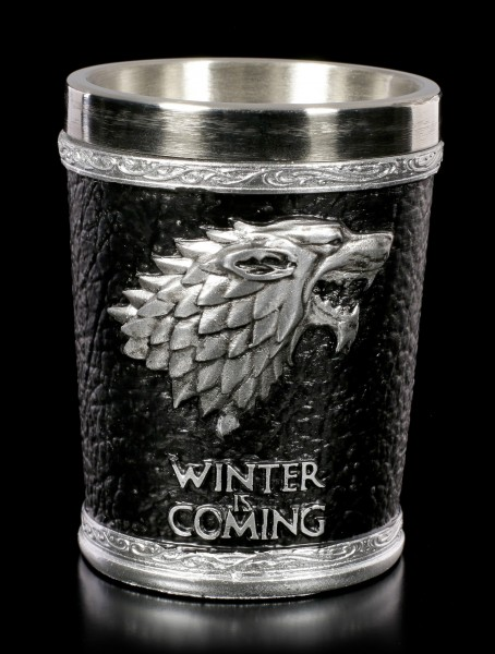 Game of Thrones Shot Glass - Winter is Coming