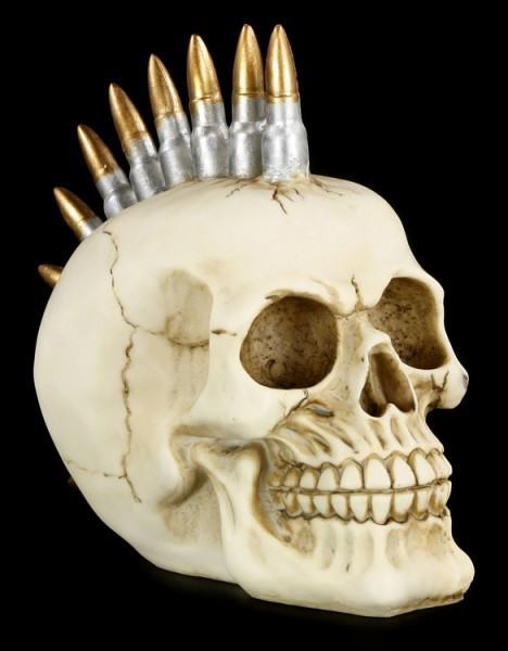 Skull with Bullets