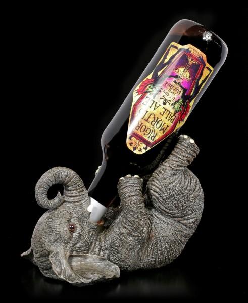 Elefant als Flaschenhalter