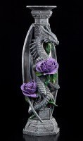 Drachen Kerzenhalter - Dragon Beauty - Anne Stokes