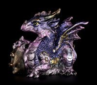 Dragon Figurine - Tyrian with Diamond