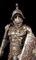 Gladiator Figurine - Spartacus with Schield and Sword