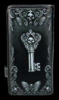 Gothic Geldbörse mit Totenkopf - Edgars Rabe