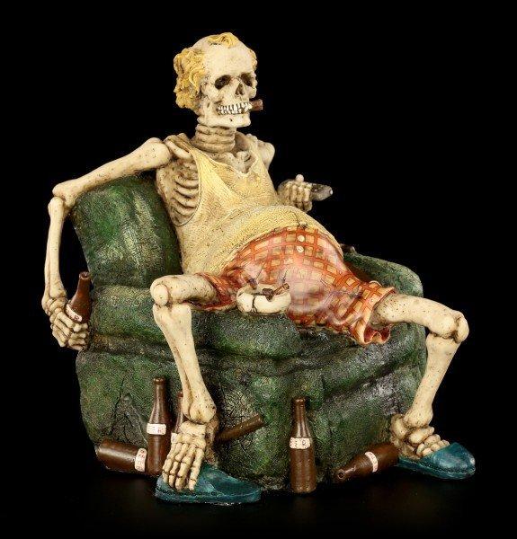 Skelett Figur - Couchpotatoe