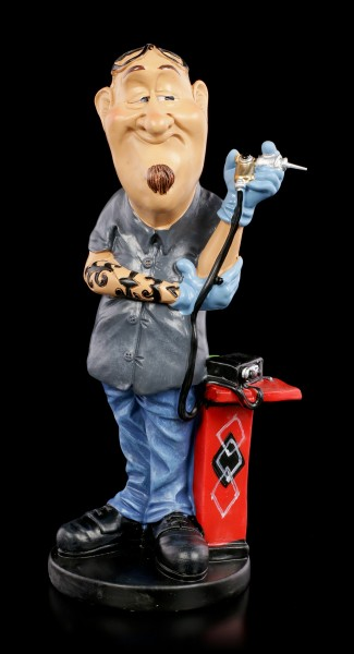 Funny Job Figurine - Tattooist