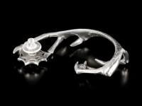 Alchemy Ear-Wrap - Demon silver