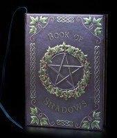 Hochwertiges Hardcover Notizbuch - Book of Shadows