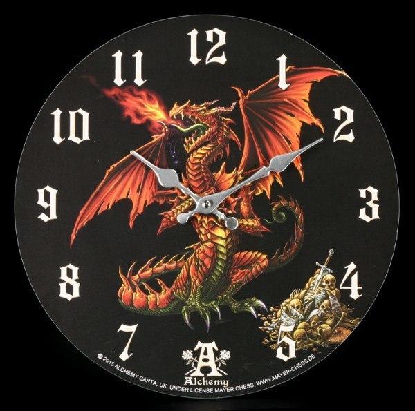 Dragon Clock - Theotholax Tartanus Draconis by Alchemy