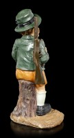 Bavarian Huntsman Figurine