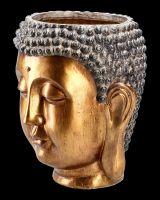 Pflanztopf - Buddhakopf