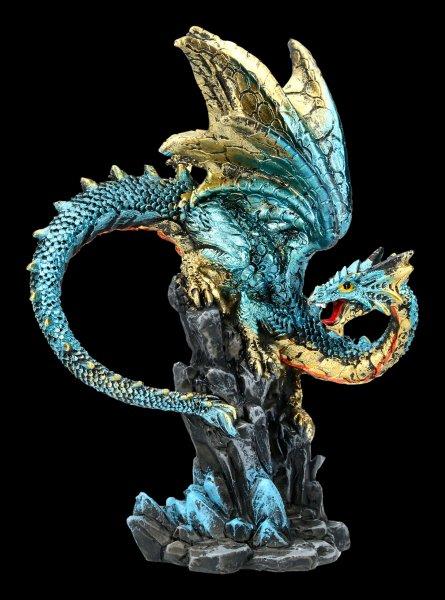 Dragon Figurine - Hear me Roar - blue