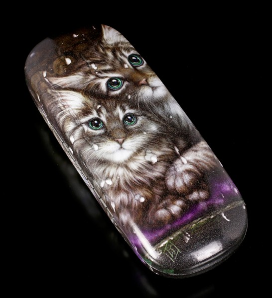 Glasses Case with Cats - Longing