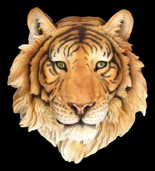 Wandrelief - Tiger Kopf Rajah