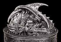 Dragon Box - My Valuables - Silver colored