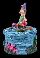 Box - Little Mermaid with purple Hair