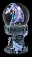 Schneekugel Drache - Dragon Mage