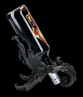 Wine Holder - Antique Rose Black