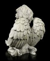 Angel Garden Figurine - Boy looks Dreamy