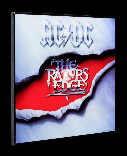 AC/DC Hochglanz Bild - The Razors Edge