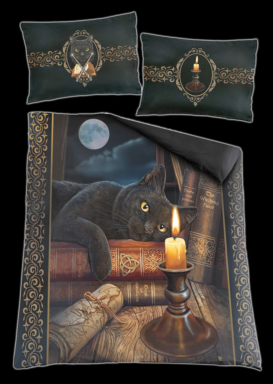 The Witching Hour - Double Duvet Cover with Pillow Cases