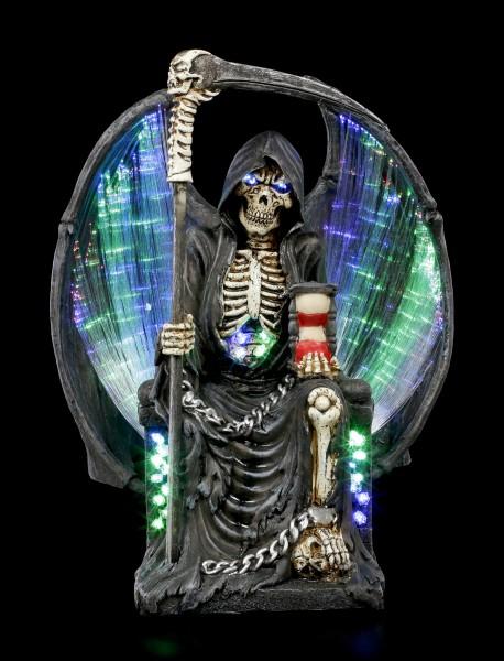 Grim Reaper Figurine with LED Lighting