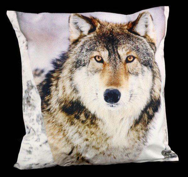 Kissenbezug - Winter Wolf