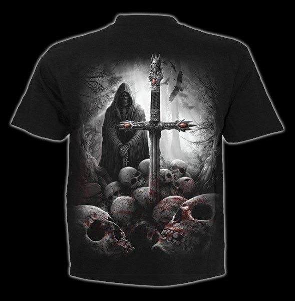 T-Shirt Gothic Reaper - Soul Searcher