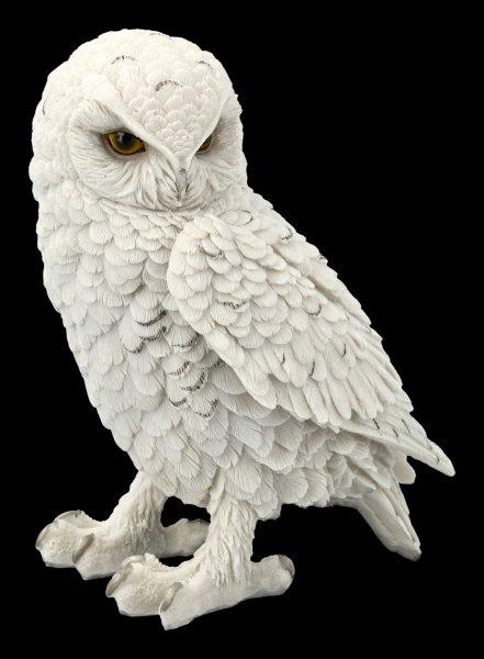Snow Owl Figurine - Snowy Watch large