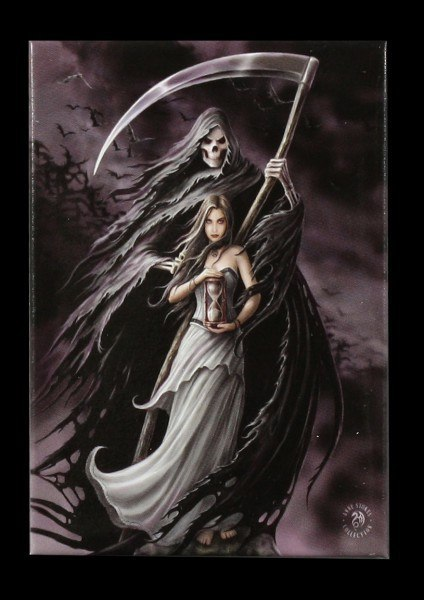 Magnet Fantasy - Summon The Reaper by Anne Stokes